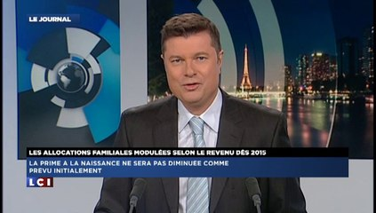 Allocations Familiales : Interview De Bruno Retailleau sur LCI