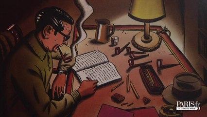 Exposition Loustal/Simenon à la BILIPO