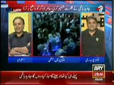 Mubashir Luqman Expressing His Wish to Chant Go Nawaz Go in His Program