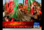 Sargodha Girls Who Are Eagerly Awaiting Pakistan Tehreek-Insaf Chairman Imran Khan