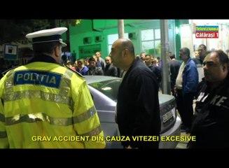 GRAV ACCIDENT DIN CAUZA VITEZEI EXCESIVE