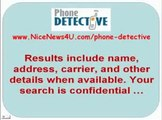 Phone Detective Reverse Phone Lookup Cell Phone Number Search WarningMust SEE YouTube2 webm