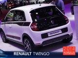 La Renault Twingo en direct du Mondial de l'Auto 2014