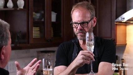 Alton Brown's Bubbly Tastes like WHAT!? | Brown Bag Wine Tasting | OraTV