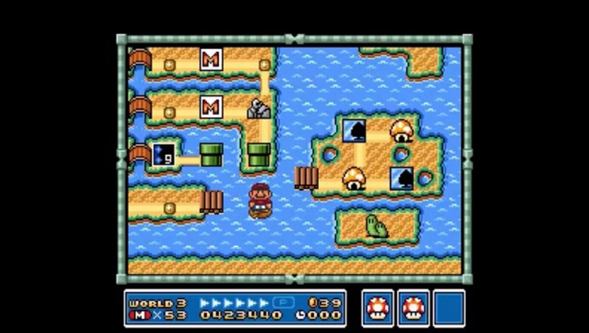 Super Mario Bros 3 Super Mario All Stars SNES Longplay Super Nintendo  (Walkthrough) 1993