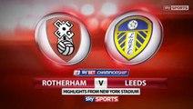Rotherham v Leeds United  #LUFC