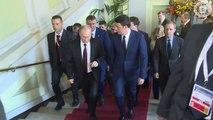 Roma - Renzi incontra il presidente della Federazione Russa Putin (17.10.14)