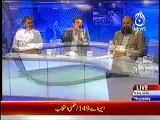 Debate Between Murad Saeed And Talat Hussain On Why PTI Supported Amir Dogar In Multan