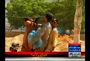 Bike Riders Carrying Weapons Are Roaming Around PPP Karachi Jalsa Venue In A Broad Daylight