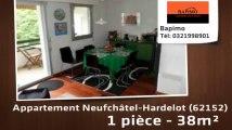 A vendre - appartement - Neufchâtel-Hardelot (62152) - 1 pièce - 38m²