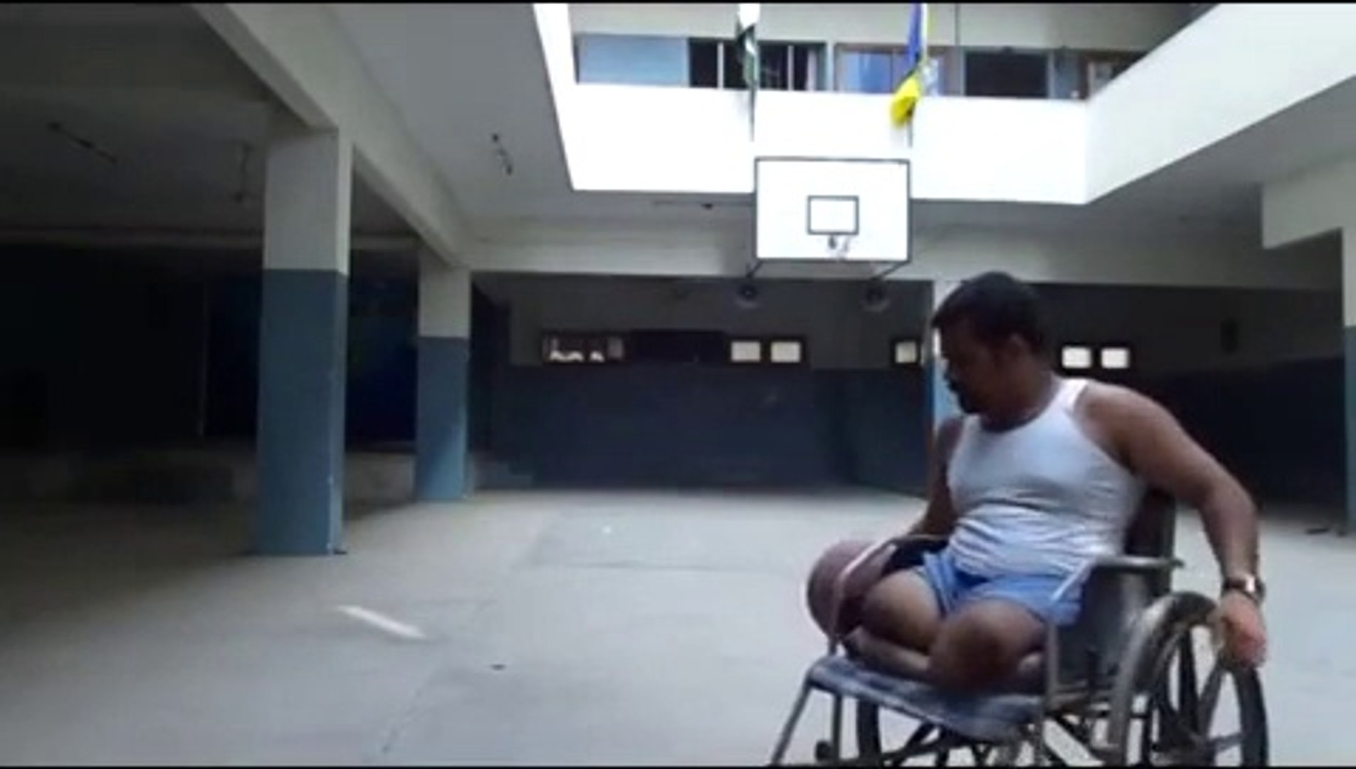 Double Amputee David: Basketball with my ability