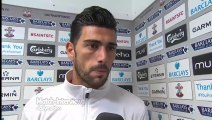 Southampton 8-0 Sunderland - Graziano Pelle Post Match Interview - Pelle on form in Saints rout