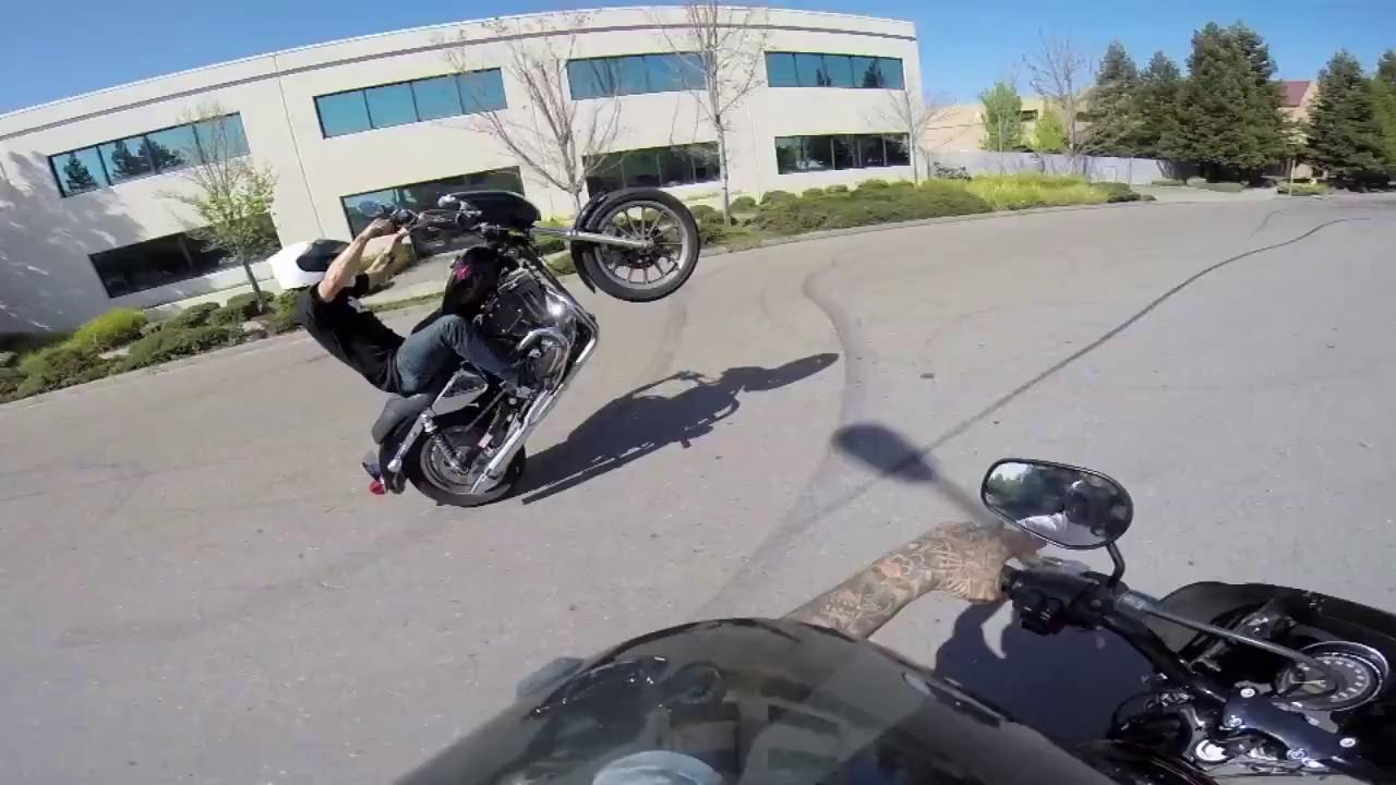 Drift en Harley-Davidson