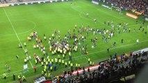 Incidents à l'Allianz Riviera après OGC Nice-SC Bastia