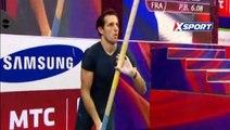 Renaud Lavillenie  -  record du monde à la perche - 6,16 mètres