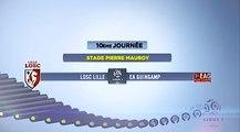 J10 Ligue 1 Résumé Lille-EAG 1-2