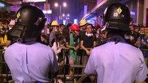 عشرات الجرحى خلال صدامات جديدة في هونغ كونغ