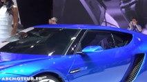 Asterion, la nouvelle voiture hybride de Lamborghini