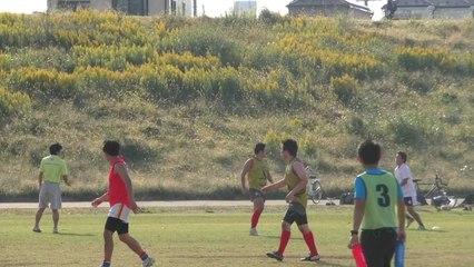 2014/10/19 SUNS vs LIONS Q1 東京ベイサンズ対R246ライオンズ - AFL Japan Top League