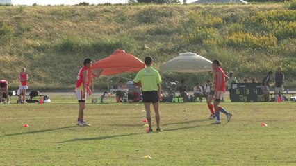 2014/10/19 SUNS vs LIONS Q3 東京ベイサンズ対R246ライオンズ - AFL Japan Top League