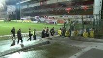 Fumigène match de foot Anvers - Saint-Trond