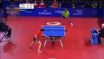 Tennis de table  -  un record de 41 échanges