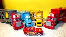 Pixar Cars Screaming Banshee with Mater, and Frank and the Haulers