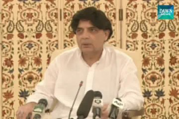 Sit-in leaders want to create anarchy :- Chaudhry Nisar