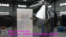 máy trộn bột khô, máy trộn bột khô trong ngành thực phẩm, dược phẩm, hóa chất, máy trộn bột khô lục giác