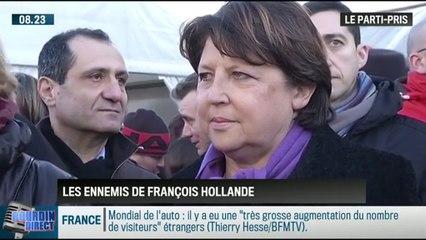 """Le parti pris de David Revault d'Allonnes : """"les pires ennemis de François Hollande sont dans son propre parti"""" - 20/10"""