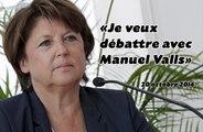 Martine Aubry faire-valoir de Manuel Valls?