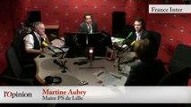 """TextO' : Martine Aubry : """"Je veux que François Hollande réussisse"""""""