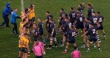 Rugby : Un haka très chaud entre Néo-Zélandais et Australiens