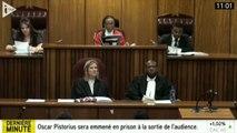 Oscar Pistorius condamné à 5 ans de prison ferme