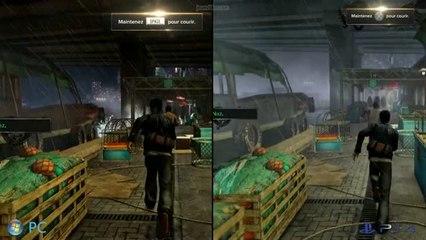 Versus - Sleeping Dogs - Version normale sur PC-PS3-360 / Definitive Edition sur PS4-One