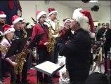 Petit concert par les jeunes musiciens trompettes et sxos