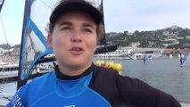Rencontre avec un équipage de 49erFX au Pôle France de Voile de Marseille