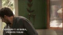 Momentos C&A: Conrado espera a Aurora con un ramo de flores - Interrupción de Francisca