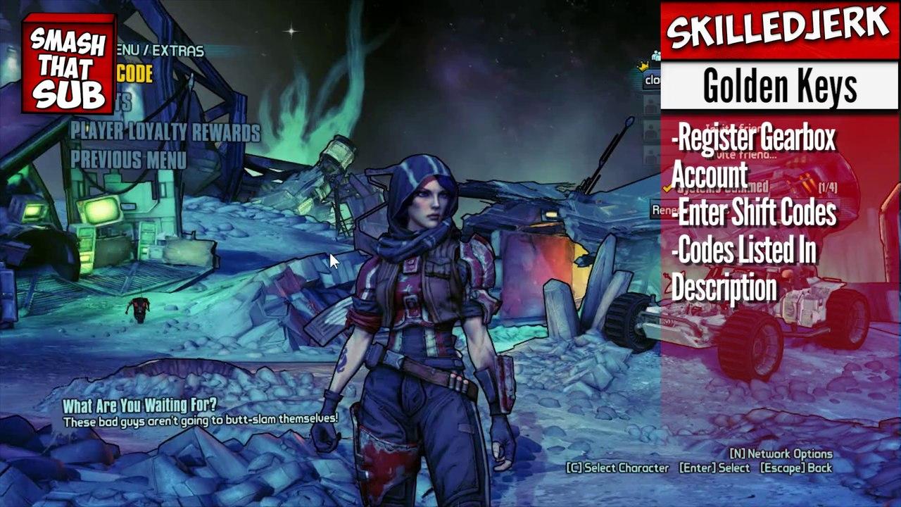 Borderlands 2 Weapon Shift Codes