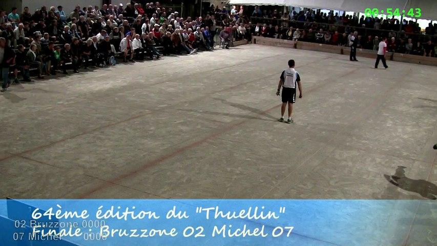 Finale, Bruzzone contre Michel, Sport Boules, Thuellin 2014