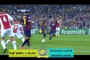هدف #برشلونة الثاني ضد #اجاكس 2-0 | #ميسي