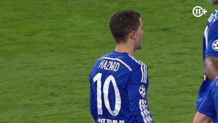 Eden Hazard scored 2 times !