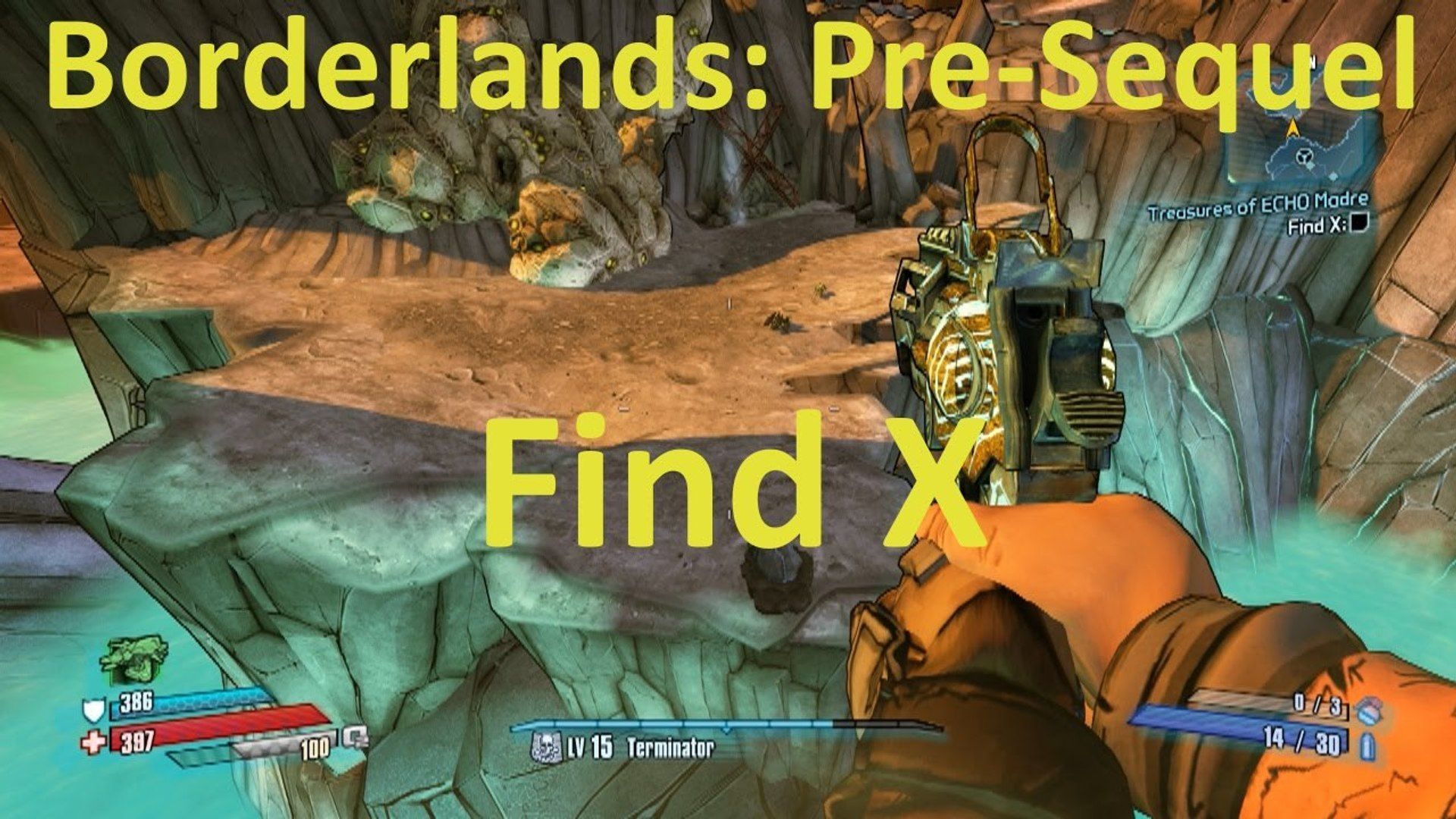 Find X in Treasures of ECHO Madre in Borderlands: The Pre-Sequel! - video  dailymotion