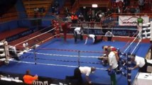 Croatian Boxer Vido Loncar Attacks Referee After Losing Fight