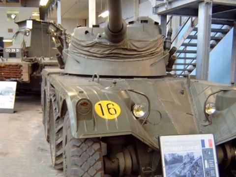 Panhard EBR Armoured Car