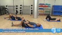 Barriga tanquinho com um mix de exercícios abdominais