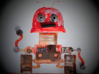 CHANSONS ROBOT - Le Robotosaure - livre-disque et spectacle jeune public - 2014
