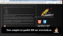 Tutos Tutoriel Dreamweaver extension création formulaire de contact envoi mail php