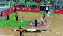 Tir incroyable en basket-ball! Olimpija - Partizan 87-58