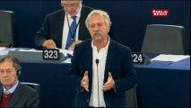 """José Bové à Jean-Claude Juncker """"Aujourd'hui je suis surpris vous avez parlé pendant près de 46min: pas un mot sur l'avenir de l'agriculture, pas un mot sur l'avenir des paysans"""""""